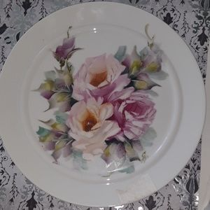 Rosenthal Germany hand-painted roses plate